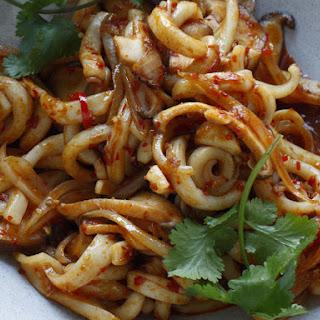 Spicy Stir-Fried Calamari