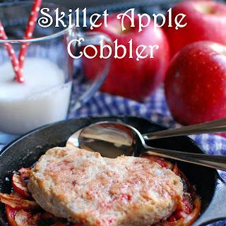 Skillet Apple Cobbler