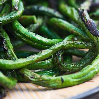 Charred Long Beans