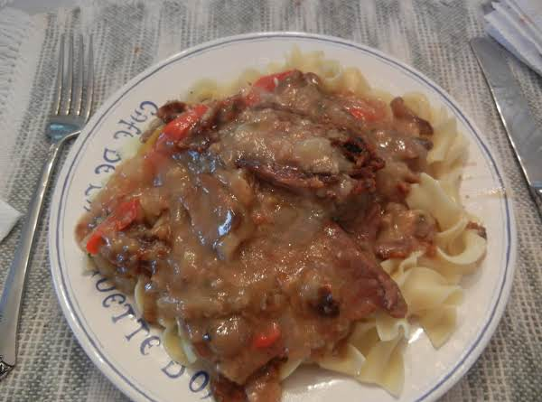 Yummy Round Steak And Mushrooms- Connie's Recipe