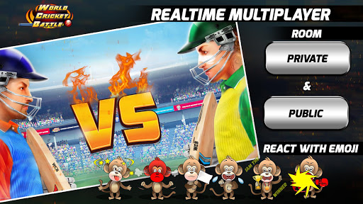 World Cricket Battle - Multiplayer & My Career  captures d'écran 1