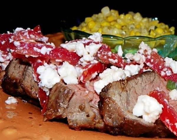 French Bistro Steak And Tomatoes Recipe