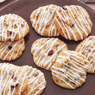 Cranberry Orange Walnut Cookies