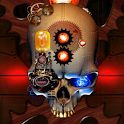 Steampunk Skull Live Wallpaper icon