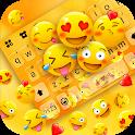 Happy Emojis Gravity Keyboard Background icon