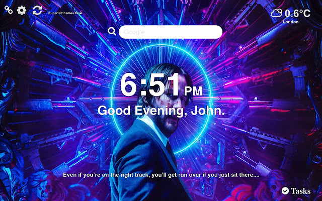John Wick 3 Parabellum Wallpapers New Tab