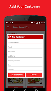 FOS - Online Food Order System- screenshot thumbnail