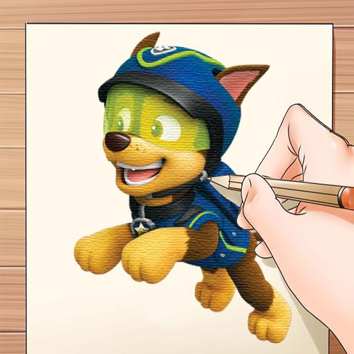 How to Draw Paww Pups Patrol