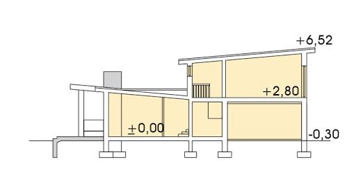 Mango 2 wersja B - Przekrój