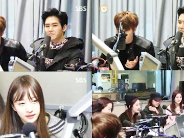 Infinite H and EXID on Choi Hwa Jung's Powertime FM