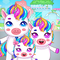Mini Town: Unicorn Home icon