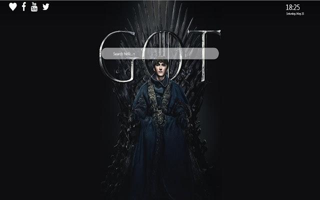 Game of Thrones Season 8 Google Chrome Theme