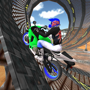 Motorbike Simulator :Cop Car Chase