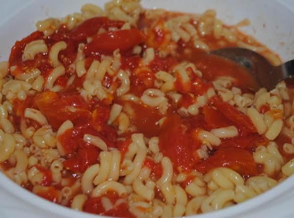 Macaroni & Tomatoes Recipe