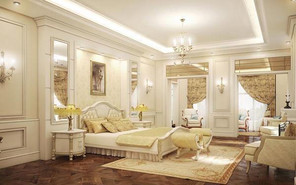 Kết quả hình ảnh cho Mẫu thiết kế nội thất kiểu Pháp