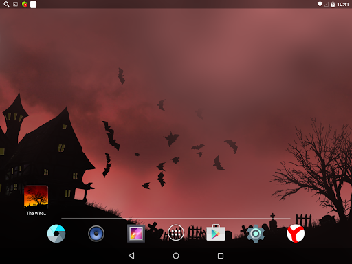 Scary Halloween Live Wallpaper Aplicaciones para Android screenshot