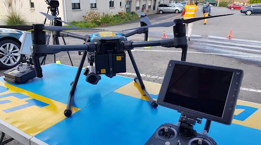 Los drones de la DGT que te multan por usar el móvil o no llevar el cinturón