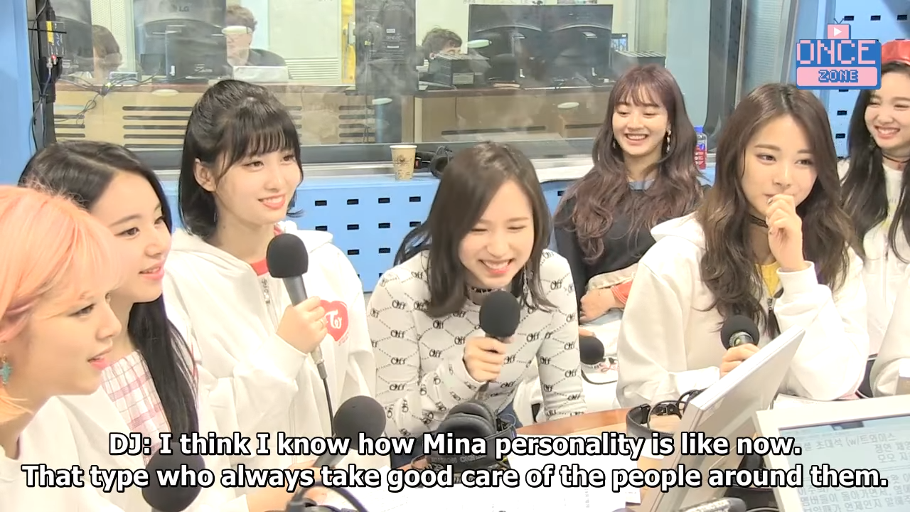 [ENG SUB] 180410 SBS Power FM _Choi Hwajung's Power Time' with TWICE 38-12 screenshot
