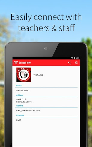 Friona ISD screenshot for Android