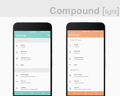 Compound [light] Substratum (Android Oreo/Nougat) Screenshot