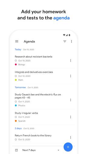 School Planner 4.0 Screenshots 1