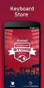 Official Arsenal FC Keyboard v3.1.78.103