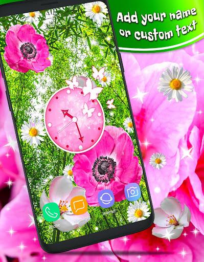 Pink Flower Live Wallpaper 🌺 Parallax Wallpapers ss1