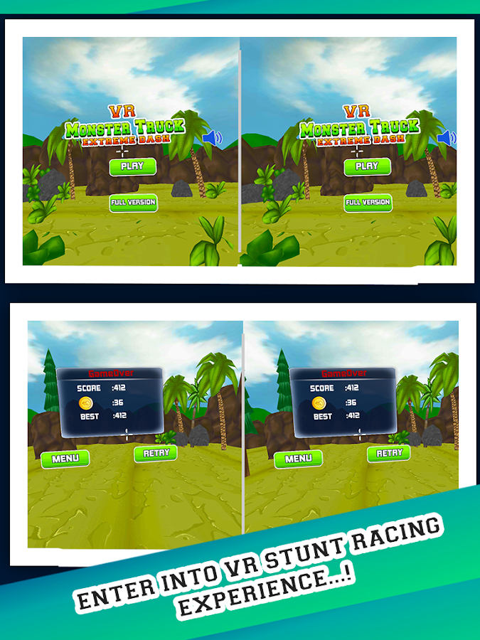 VR Monster Truck Extreme Dash- screenshot