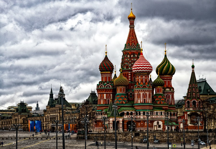 Moscow by Antonello Madau - Buildings & Architecture Public & Historical