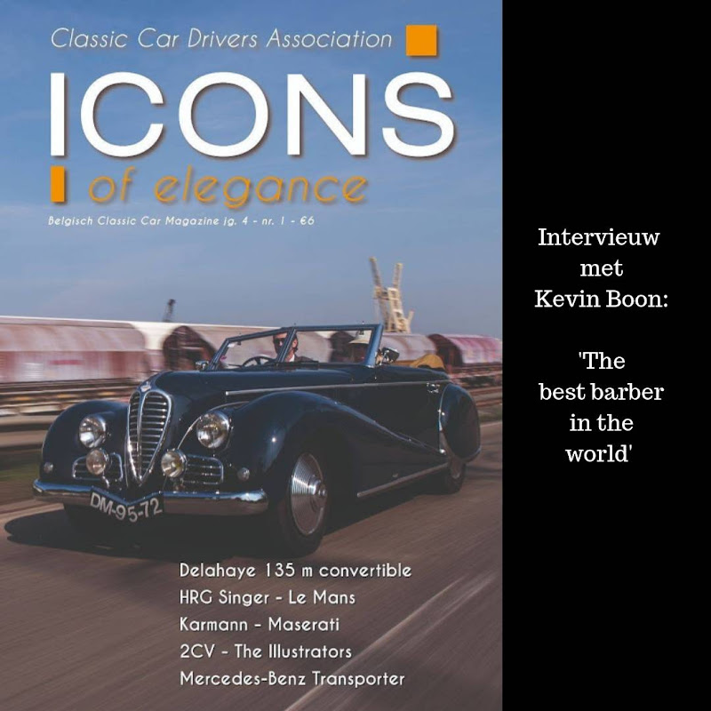 Best barber of the world Interview  - Icons Magazine
