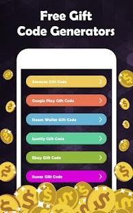 Free Gift Code Generators - náhled
