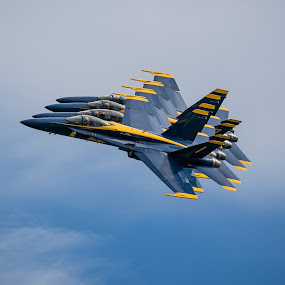 by Rodney Rodriguez - Transportation Airplanes ( f-18,  )
