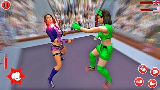 Superstar Girl Wrestling Ring Fight Mania 2019 9