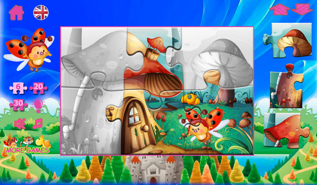 Puzzles from fairy tales- screenshot