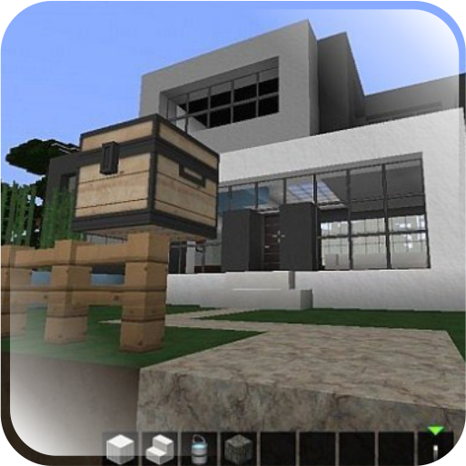 Modern minecraft house design android apps on google play for Minecraft modernes haus download 1 7 2