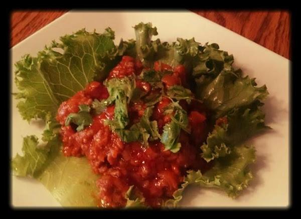 Thai Ground Beef Lettuce Wraps Recipe