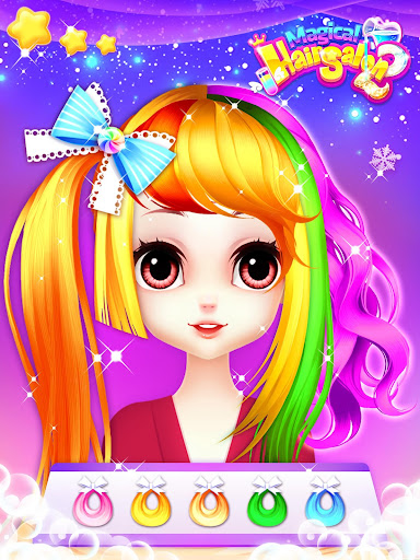 Princess Fashion Makeover: Hair Salon & Dress up 1.11 gameplay | by HackJr.Pw 13