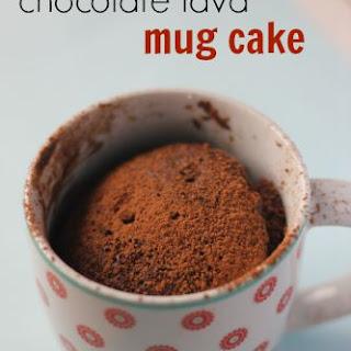 Chocolate Lava Mug Cake