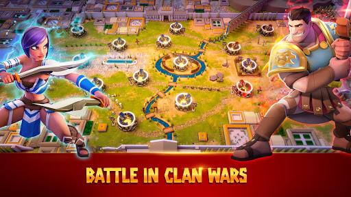 Gladiator Heroes Clash - Strategy RPG 2.7.4 screenshots 2