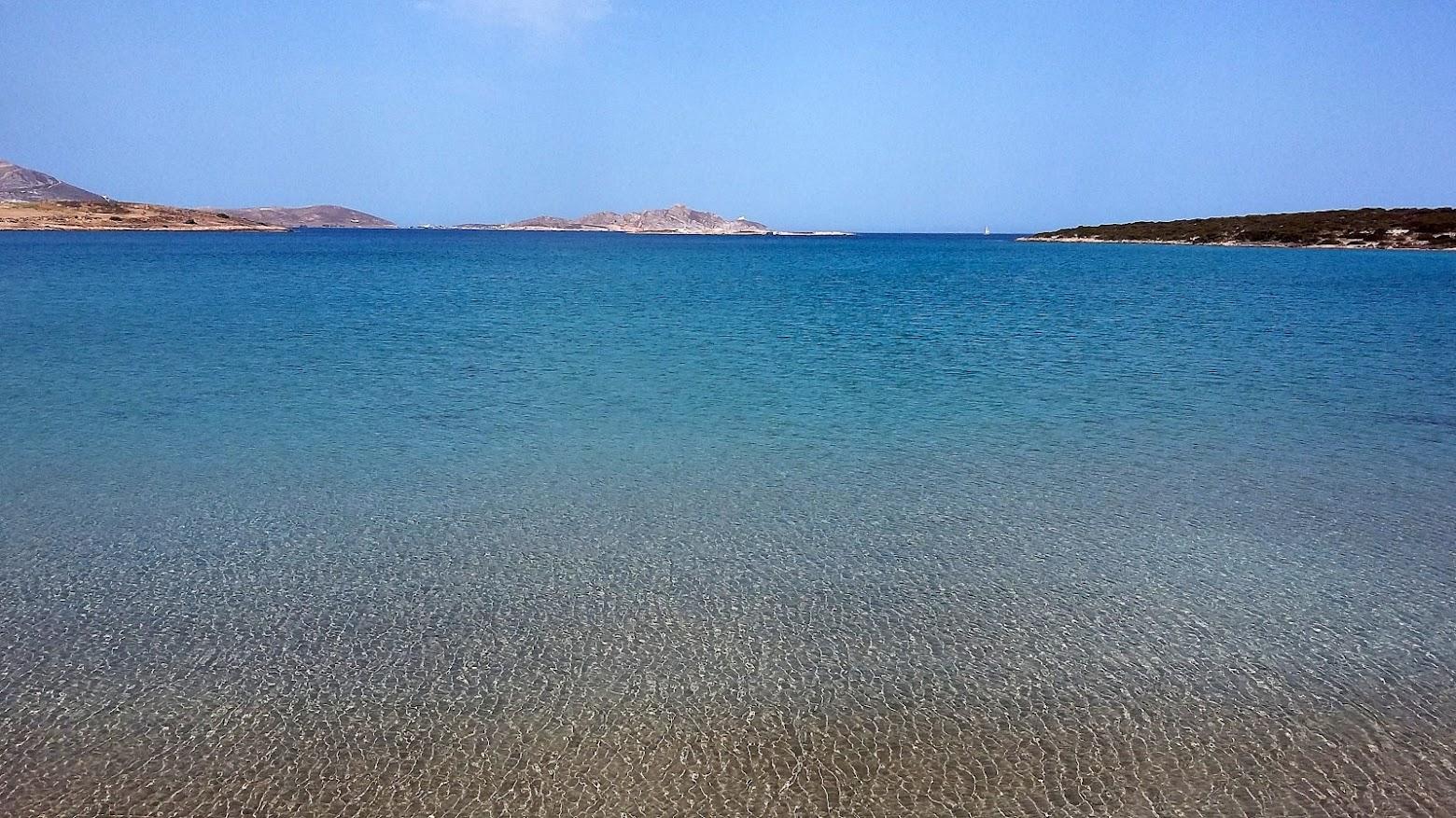 Spiaggia di Santa Maria Cosa vedere Paros le migliori spiagge