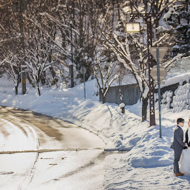 because of you I Know of LOVE by JO Leong - Wedding Bride & Groom