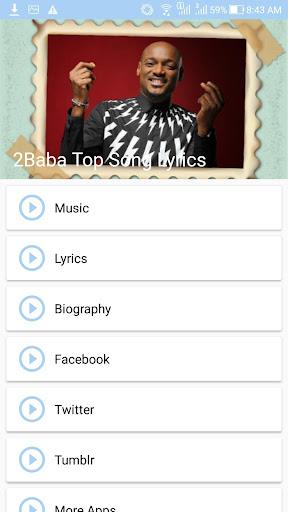 2Baba: Top Songs & Lyrics screenshots 1