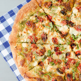 Artichoke Pesto Chicken Pizza