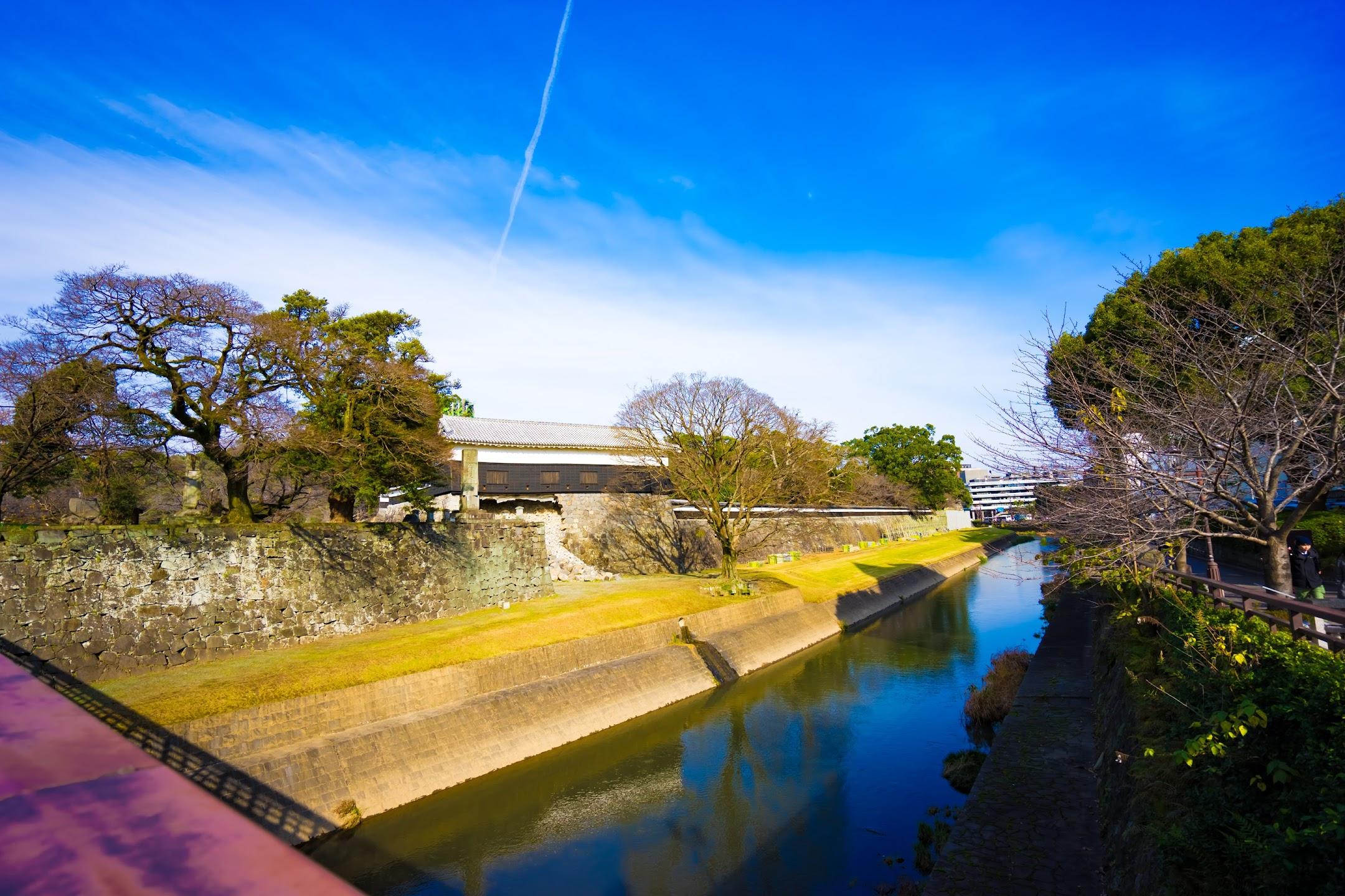 熊本城 行幸橋