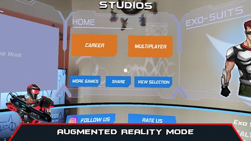 VR AR Dimension - Robot War Galaxy Shooter apkpoly screenshots 7