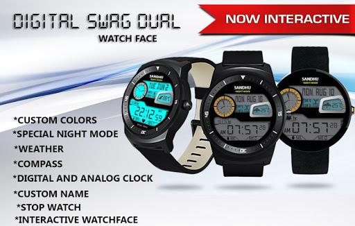 Digital Swag Dual Watch Face