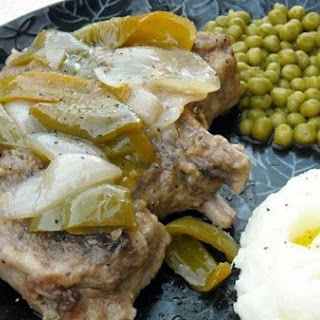 Low Country Smothered Pork Chops