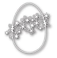 Memory Box Die - Pristine Egg