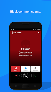 Call Control - SMS/Call Blocker. Block Spam Calls! Screenshot