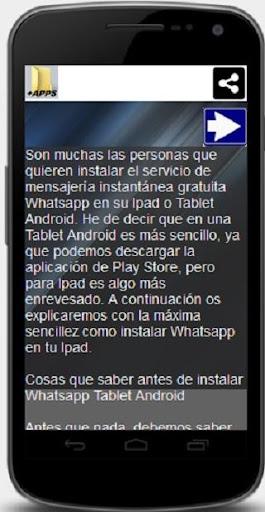 Wasap messenger para tablet